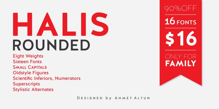 Halis Rounded