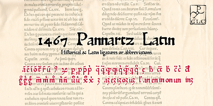 1467 Pannartz Latin font
