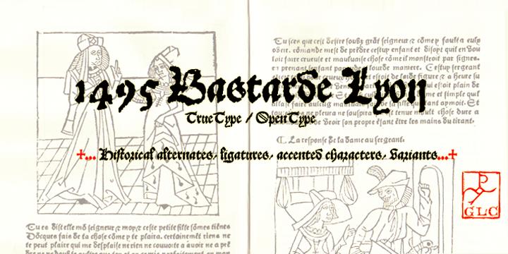 1495 Bastarde Lyon
