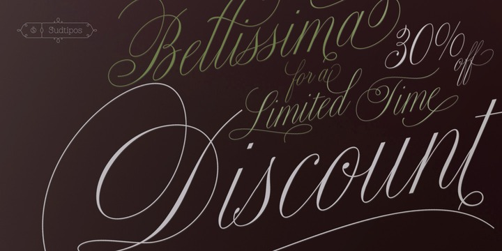 Bellissima Script Pro font