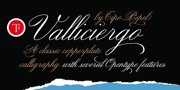 Valliciergo font