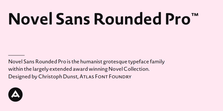 Novel Sans Rounded Pro font