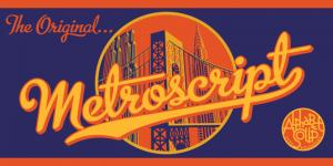 Download Metroscript font
