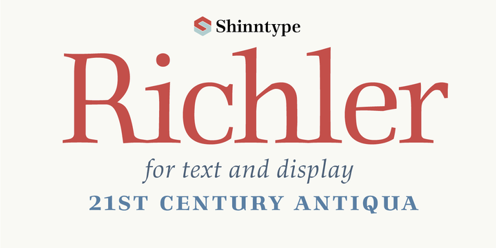 richler font