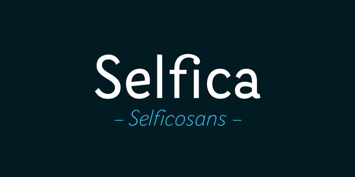 Selfica font