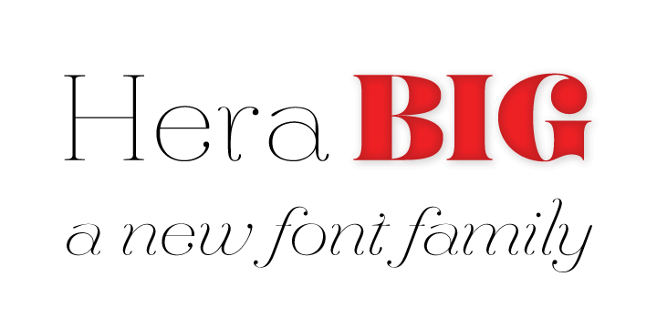 hera big font