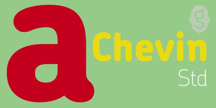 Chevin font