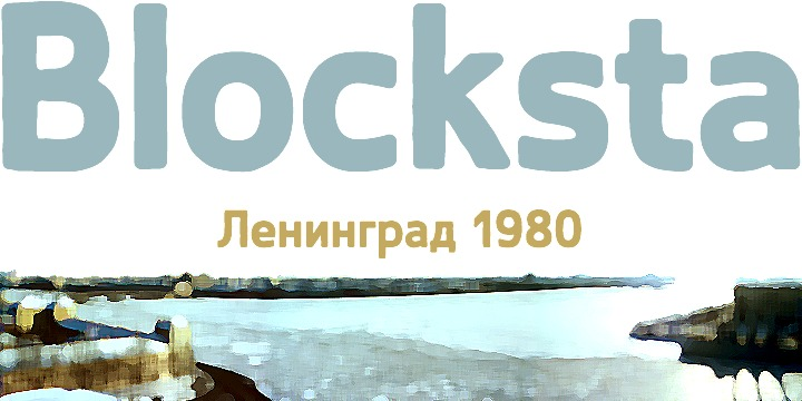 blocksta font