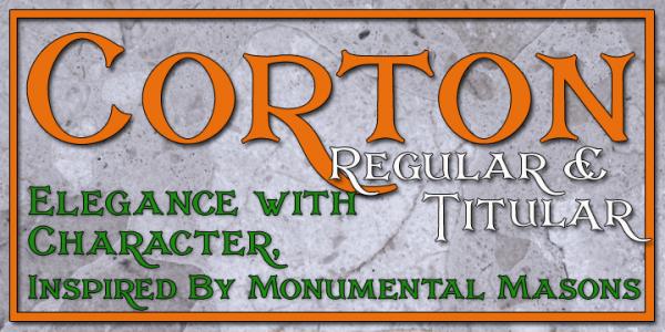 Download Corton font