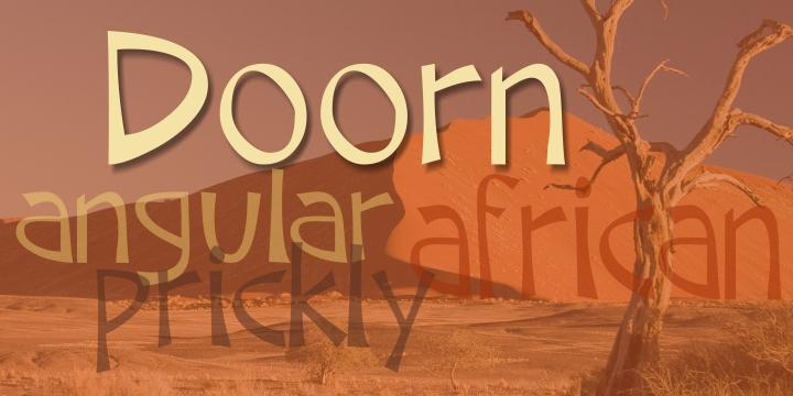 Download Doorn font