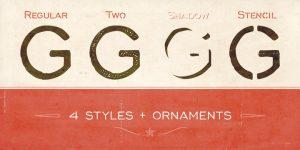 Corinth font
